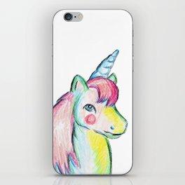 Unicorn Pony iPhone Skin