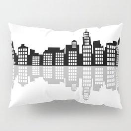 chicago skyline Pillow Sham