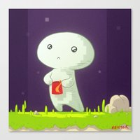 fez Canvas Prints featuring Fez by meisterMASH
