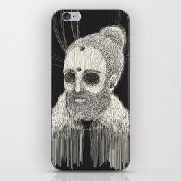 HOLLOWED MAN iPhone Skin