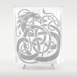 JÖRMUNGANDR Shower Curtain