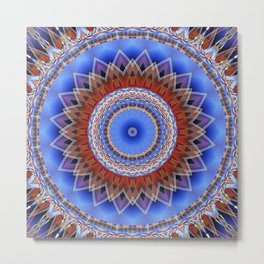 Mandala bonding Metal Print