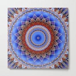 Mandala bonding Metal Print