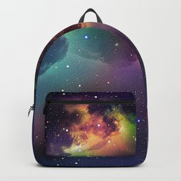 Abstract Space Fantasy Backpack