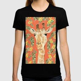 Giraffe and Acacia T-shirt