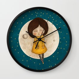 Moon Song Wall Clock