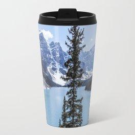 Landscape Lake Moraine Crystal Blue Waters Travel Mug
