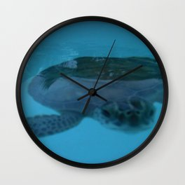 Nosey photo bomb Wall Clock