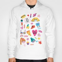 90s Hoodies featuring 90s by melissa chaib