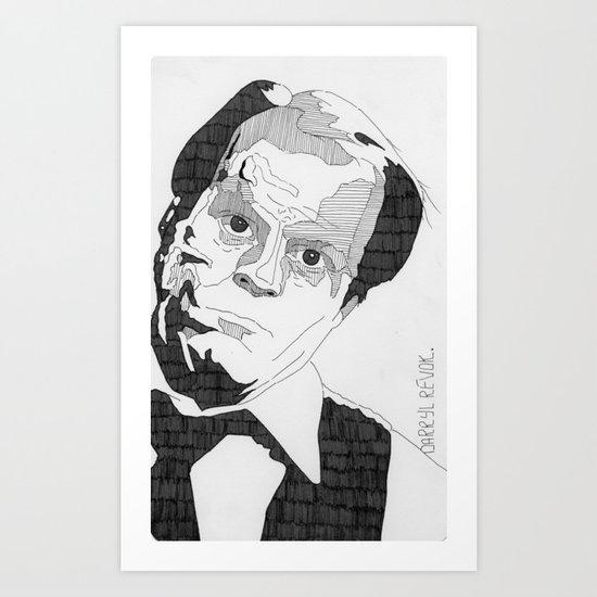 Darryl Revok. Art Print