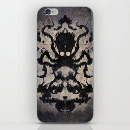 Rorschach octopus iPhone Skin