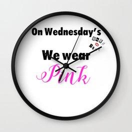 Mean Girls Wall Clock