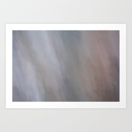 Abstract Soft Pastel Shades.  Like painted on canvas. Art Print