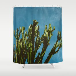 Cactus Sky Shower Curtain