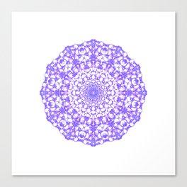 Mandala 12 / 4 eden spirit purple Canvas Print