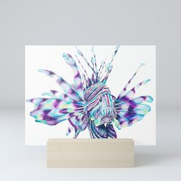 Trippy Fishy Mini Art Print