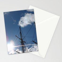 Salem Wooden ship Stationery Cards