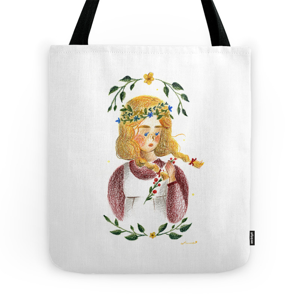 Anne of Green Gables Tote Purse by tresoret (TBG8578141) photo