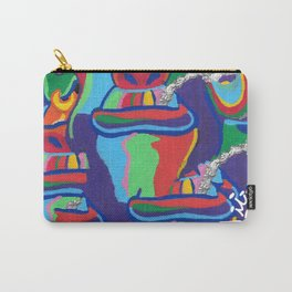 Color Monkey Explosion Carry-All Pouch