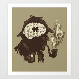 Puzzle Solved Art Print
