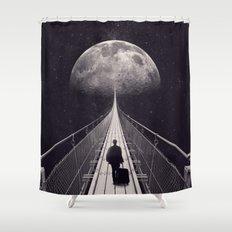 Space Trip Shower Curtain