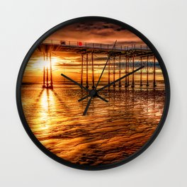 Days End Wall Clock