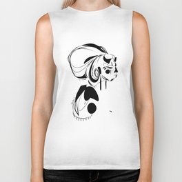 Every second is a handful of dirt - Emilie Record Biker Tank