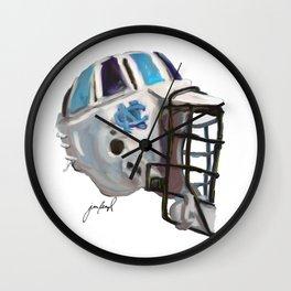 UNC Tarheels Bucket Wall Clock