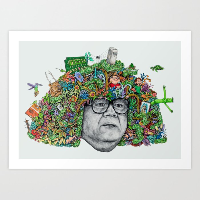 DERIVATIVE! Art Print