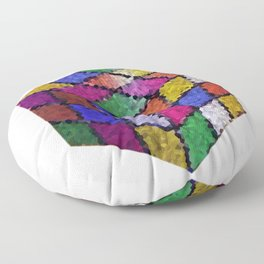 The color cube Floor Pillow