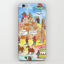 Scene in  ancient Egypt iPhone Skin
