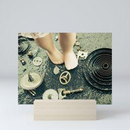 Alice's Escapades ~ Alice Lost In Time Mini Art Print