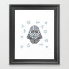 Merry Darth Vaderness   Framed Art Print