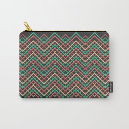 Pattern Mesh Carry-All Pouch