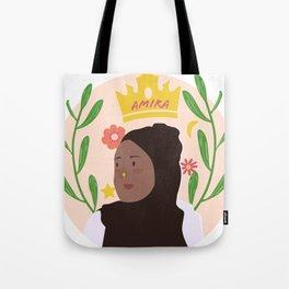 Amira Mahmood Tote Bag