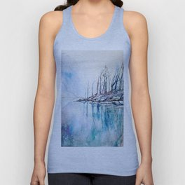 The other side of the mountain Unisex Tank Top