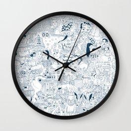 The Infinite Drawing Wall Clock