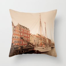 By the Nyhavn Throw Pillow