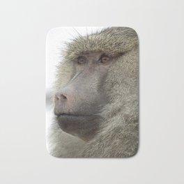 Baboon Bath Mat
