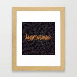 Imagine Dragonz Framed Art Print