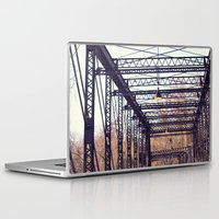 bridge Laptop & iPad Skins featuring Bridge by myhideaway