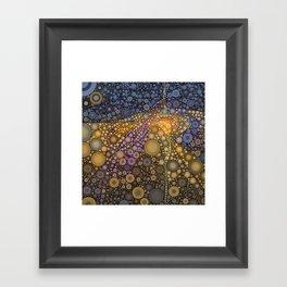 Deep Roots Abstract Framed Art Print