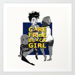 Care Free Art Print