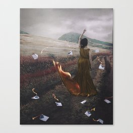 Lost Love Letters Canvas Print