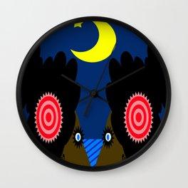 bbnyc: midnight sirens Wall Clock