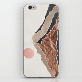 Mount Hood // Daylight Art Print Oregon Stratovolcano Rose Gold Silver Blue Cream Black Mountain iPhone Skin
