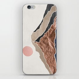 Mount Hood // Daylight Art Print Oregon Stratovolcano Rose Gold Silver Blue Cream Black Mountain iPhone Skin