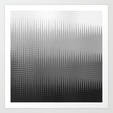 Waves in Black and White Art Print