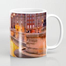 Paris Pont Neuf at Dusk Coffee Mug