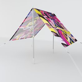 PAGER Mural Abstract Royal Stain Sun Shade